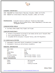 Resume For Ca Articleship Training Over 10000 Cv And Resume Samples With Free Download Best Ca Resume