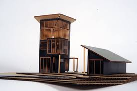 architecture students design their dream cabins for cabin life