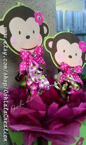 Modern Mommy Baby Shower Theme - best 25 monkey centerpiece ideas on pinterest monkey party