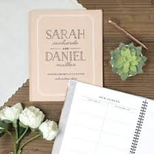 wedding sign in books follow the classic wedding tradition of filling guest book with