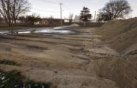 neighbors upset over cargill dirt mounds in the flats the gazette