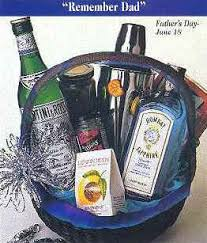 martini gift basket chagne gifts liquor baskets