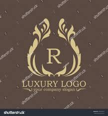 luxury logo stock vector 454594273 shutterstock