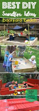 Backyard Sandbox Ideas 25 Awe Inspiring Diy Sandbox Ideas For A Filled Summer Playtime