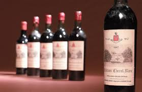 wine legend château cheval blanc the world s most expensive faulty wine chateau cheval blanc 1947