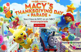 macy s thanksgiving day parade 2017 live on 23 november