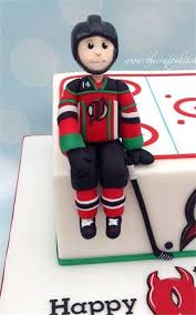 hockey cake toppers hockey cake toppers bespoke topper edible decorations babycakes site