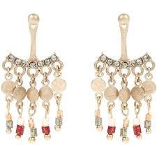 accessorize earrings accessorize sally jangly ear jacket 12 liked on polyvore