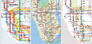 map of new york city a new subway map for new york city metropolis