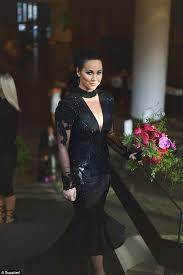 wedding dress daily the mummy cachia wears a black dress to wedding