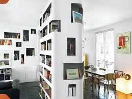 bookcase room dividers apartment great studio apartment ideas for men modern bookcase