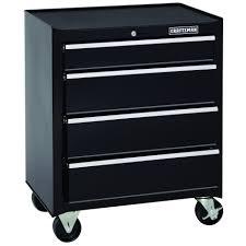 stanley 10 drawer rolling tool cabinet craftsman 26 4 drawer standard duty rolling cabinet black