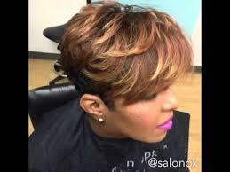 short haircuts for black women youtube