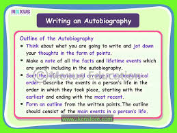 ks2 literacy biography and autobiography writing an autobiography youtube