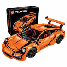 orange porsche 911 gt3 rs lepin technics 20001 porsche 911 gt3 rs building blocks lazada ph