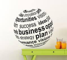 aliexpress com buy home art decor 3d views business ball wall