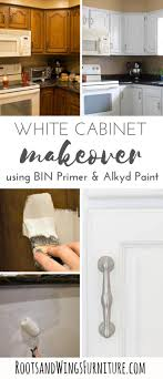 what of primer do i use on kitchen cabinets how to paint your kitchen cabinets white roots wings