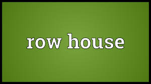 rowhou com row house meaning youtube