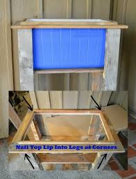 recycle pallets cooler designs photograph how to build a wood deck