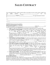 for sale by owner letter template for sale owner contract form