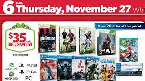 when is black friday ps4 top 5 best nintendo wii u black friday deals