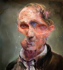 saatchi charles baudelaire painting by mathieu laca