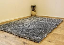 Large Modern Rug by Silver Grey Small Large Modern Sparkle Rug Thick 3cm High Pile