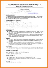 resume marketing analyst cv format for part time job teenage
