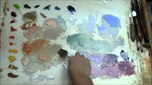 mixing flesh tones for painting portraits youtube