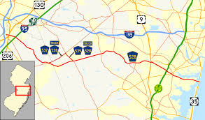 Google Maps Truck Route by County Route 528 New Jersey Wikipedia