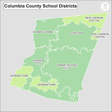 New York Counties Map Columbia County New York Districts Info And Map