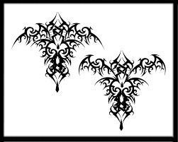 tribal tattoos with roses designs gothic bat tattoo design tattoobite com gothic bat tattoo