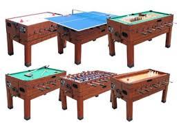 foosball table air hockey combination 13 in 1 combination game table in cherry the danbury foosball