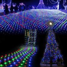 3m 2 m waterproof led net mesh fairy string lights ice bar lamp