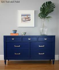 Navy Blue An by Sapphire Blue Midcentury Dresser Gold Dresser Dresser And Navy Blue