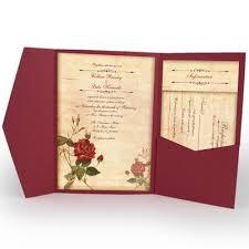 Pocket Fold Invitations Pocketfold Invitation Suites Designed With Amore Custom Invitations
