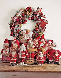 christmas collections santa display if you a collection of decorations