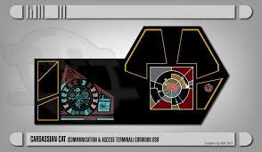 ds 9 home theater system cardassian cat panel computer and communication acess terminal