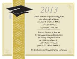 high school graduation announcement wording free printable graduation invitations