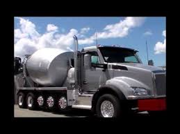 kenworth concrete truck new kenworth mixer truck youtube