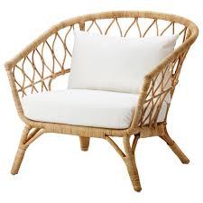 Ikea Wicker Patio Furniture - stockholm 2017 chair with cushion ikea