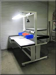 Workbench With Light Rdm Workbench I 107p Boom Fully Adjustable Lift Table W