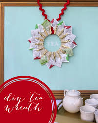 how to make handmade crafts for home decoration u2022 diy tea wreath handmade gift idea this is so cute and perfect