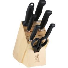 zwilling j a henckels four star anniversary 8 pc knife block set