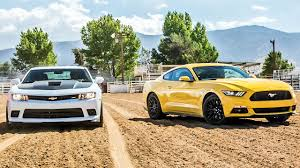 camaro and mustang 2015 ford mustang gt vs 2015 chevrolet camaro ss 2 ep