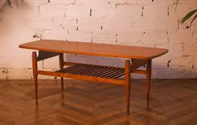 Vintage Coffee Tables by Vintage Coffee Table Rectangular Shape Scandinavian Design