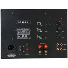 yung sd300 6 300w class d subwoofer plate amplifier module with 6