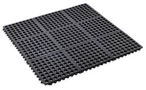 amazon com kempf rubber anti fatigue drainage mat interlocking