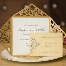 wedding invitations gold and white new wedding invitation cards gold wedding invitation design