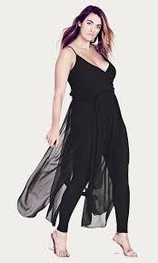 plus size black jumpsuit shop s plus size plus size jumpsuits rompers city chic usa